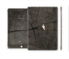 The Dark Cracked Wood Stump Skin Set for the Apple iPad Pro