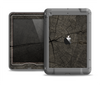 The Dark Cracked Wood Stump Apple iPad Air LifeProof Nuud Case Skin Set