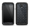 The Dark Diamond Plate Samsung Galaxy S4 LifeProof Fre Case Skin Set