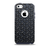 The Dark Diamond Plate Skin for the iPhone 5c OtterBox Commuter Case