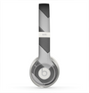 The Dark Gray Wide Chevron Skin for the Beats by Dre Solo 2 Headphones