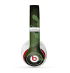 The Dark Green Camouflage Textile Skin for the Beats by Dre Studio (2013+ Version) Headphones