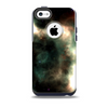 The Dark Green Glowing Universe Skin for the iPhone 5c OtterBox Commuter Case