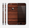 The Dark Heavy WoodGrain Skin for the Apple iPhone 6