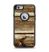The Dark Highlighted Old Wood Apple iPhone 6 Otterbox Defender Case Skin Set