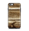 The Dark Highlighted Old Wood Apple iPhone 6 Plus Otterbox Symmetry Case Skin Set