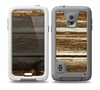 The Dark Highlighted Old Wood Skin for the Samsung Galaxy S5 frē LifeProof Case