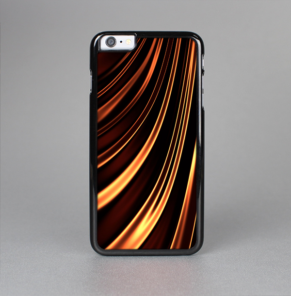 The Dark Orange Shadow Fabric Skin-Sert Case for the Apple iPhone 6 Plus