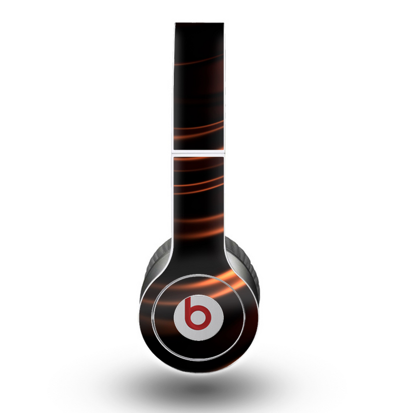 The Dark Orange Shadow Fabric Skin for the Beats by Dre Original Solo-Solo HD Headphones
