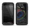 The Dark Peacock Spread Samsung Galaxy S4 LifeProof Nuud Case Skin Set