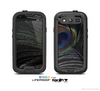The Dark Peacock Spread Skin For The Samsung Galaxy S3 LifeProof Case