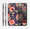 The Dark Purple & Colorful Floral Pattern Skin for the Apple iPhone 6