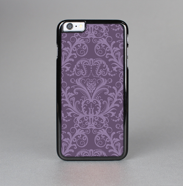 The Dark Purple Delicate Pattern Skin-Sert Case for the Apple iPhone 6 Plus
