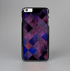 The Dark Purple Highlighted Tile Pattern Skin-Sert Case for the Apple iPhone 6 Plus