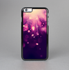 The Dark Purple with Desending Lightdrops Skin-Sert Case for the Apple iPhone 6 Plus