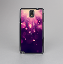 The Dark Purple with Desending Lightdrops Skin-Sert Case for the Samsung Galaxy Note 3