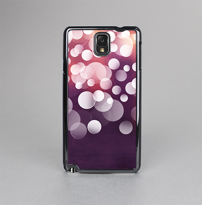The Dark Purple with Glistening Unfocused Light Skin-Sert Case for the Samsung Galaxy Note 3