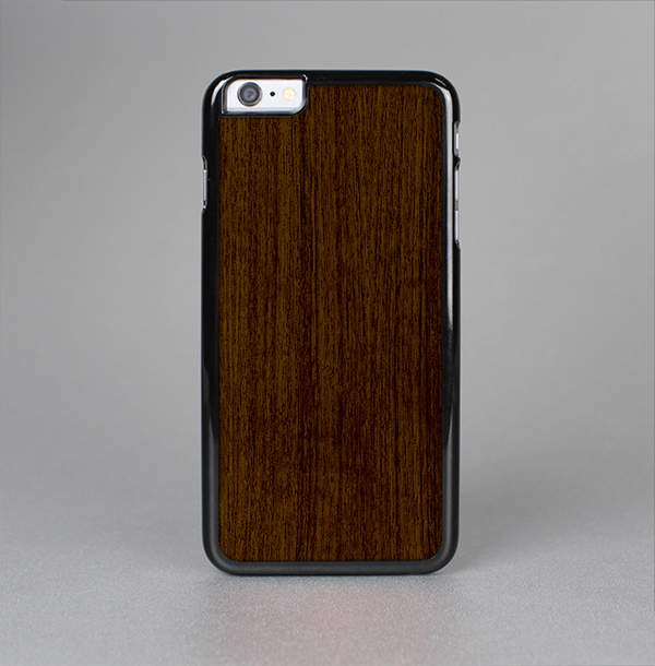 The Dark Quartered Wood Skin-Sert Case for the Apple iPhone 6 Plus