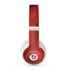 The Dark Red with Translucent Shapes Skin for the Beats by Dre Studio (2013+ Version) Headphones