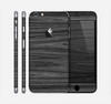 The Dark Slate Wood Skin for the Apple iPhone 6 Plus