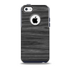 The Dark Slate Wood Skin for the iPhone 5c OtterBox Commuter Case