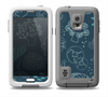 The Dark Teal Sea Creature Icons Skin for the Samsung Galaxy S5 frē LifeProof Case