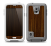 The Dark Walnut Wood Skin for the Samsung Galaxy S5 frē LifeProof Case