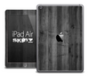 The Dark Washed Wood Skin for the iPad Air