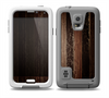 The Dark Wood Texture V5 Skin for the Samsung Galaxy S5 frē LifeProof Case