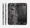 The Dark Wood with Floral Pattern Skin for the Apple iPhone 6