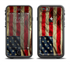 The Dark Wrinkled American Flag Apple iPhone 6/6s Plus LifeProof Fre Case Skin Set