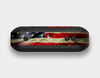 The Dark Wrinkled American Flag Skin Set for the Beats Pill Plus