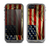 The Dark Wrinkled American Flag Skin for the Apple iPhone 5c LifeProof Fre Case
