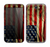 The Dark Wrinkled American Flag Skin for the Samsung Galaxy Note 2