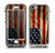 The Dark Wrinkled American Flag Skin for the iPhone 5-5s nüüd LifeProof Case