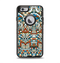 The Decorative Blue & Red Aztec Pattern Apple iPhone 6 Otterbox Defender Case Skin Set