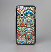The Decorative Blue & Red Aztec Pattern Skin-Sert Case for the Apple iPhone 6 Plus
