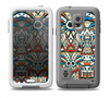 The Decorative Blue & Red Aztec Pattern Skin for the Samsung Galaxy S5 frē LifeProof Case