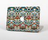 The Decorative Blue & Red Aztec Pattern Skin for the Apple MacBook Pro 13""