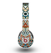 The Decorative Blue & Red Aztec Pattern Skin for the Beats by Dre Original Solo-Solo HD Headphones