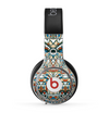 The Decorative Blue & Red Aztec Pattern Skin for the Beats by Dre Pro Headphones