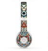The Decorative Blue & Red Aztec Pattern Skin for the Beats by Dre Solo 2 Headphones