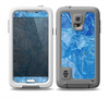 The Deep Blue Ice Texture Skin Samsung Galaxy S5 frē LifeProof Case