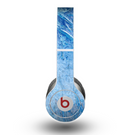 The Deep Blue Ice Texture Skin for the Beats by Dre Original Solo-Solo HD Headphones
