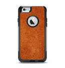 The Deep Orange Texture Apple iPhone 6 Otterbox Commuter Case Skin Set
