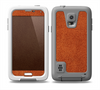 The Deep Orange Texture Skin for the Samsung Galaxy S5 frē LifeProof Case