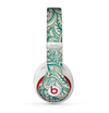 The Delicate Green & Tan Floral Lace Skin for the Beats by Dre Studio (2013+ Version) Headphones