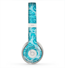 The Delicate Trendy Blue Pattern V4 Skin for the Beats by Dre Solo 2 Headphones