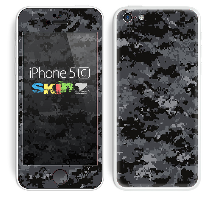 The Digital Camouflage V3 Skin for the Apple iPhone 5c