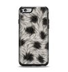 The Dotted Black & White Animal Fur Apple iPhone 6 Otterbox Symmetry Case Skin Set